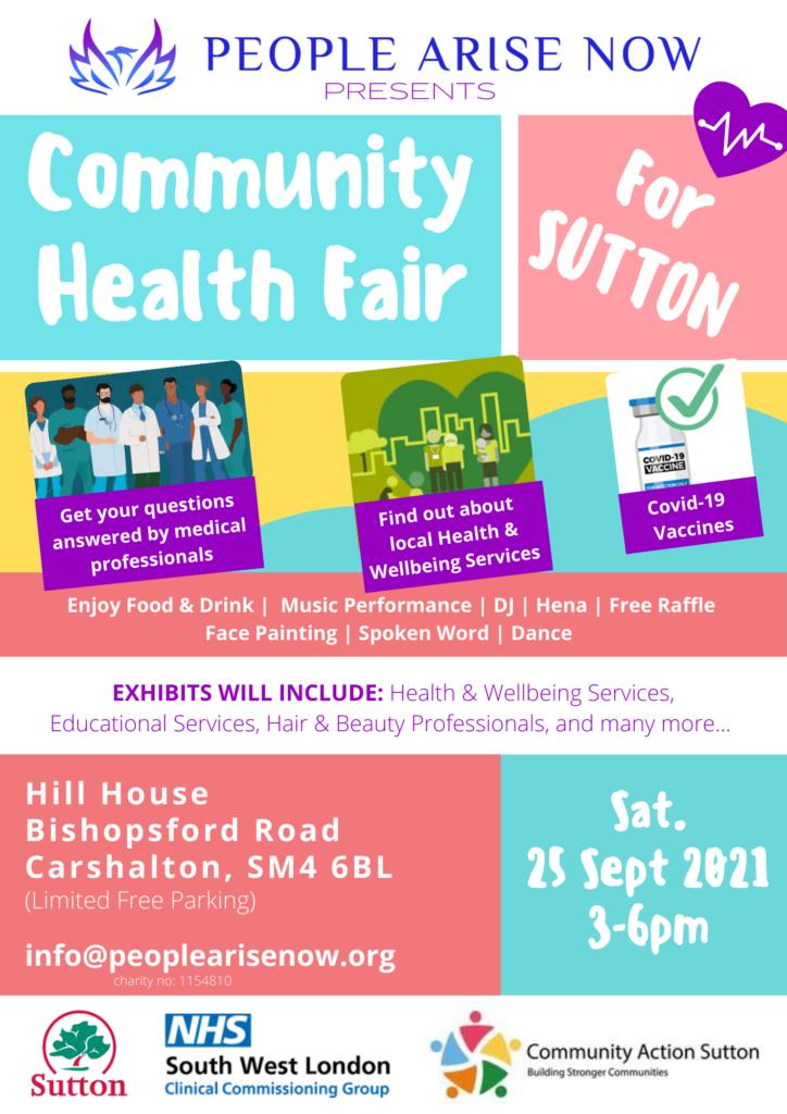 Community Health Fair Sutton